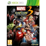 Marvel vs. Capcom 3 - X-Box 360 Cover Art