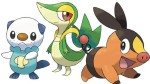 Pokemon Black and White Starter Pokemon